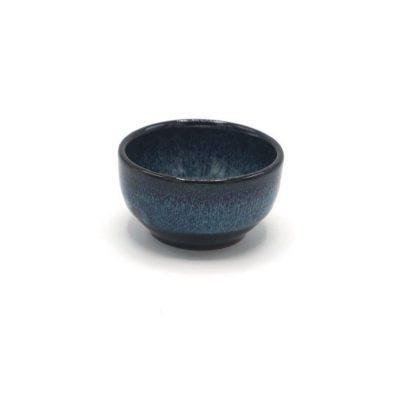 Theekopje 'kobalt blue'