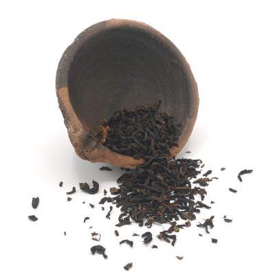Japanse zwarte thee