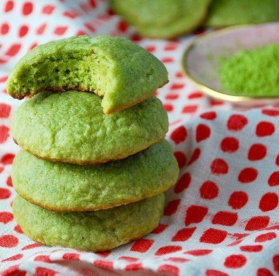Matcha koekjes