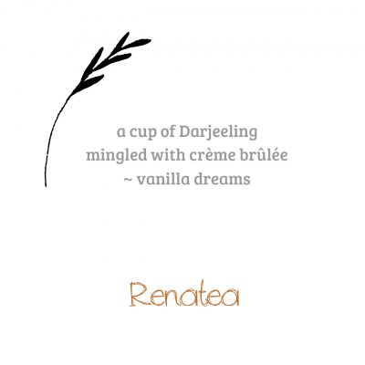 A cup of Darjeeling