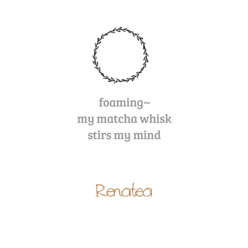 Matcha poem