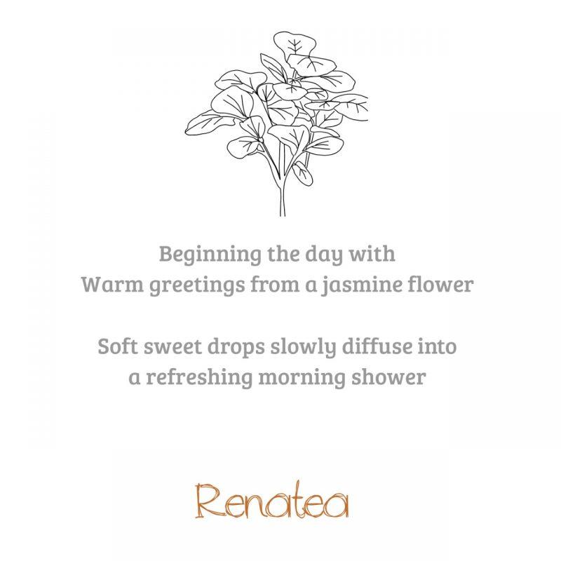 Jasmijn bloemen poem